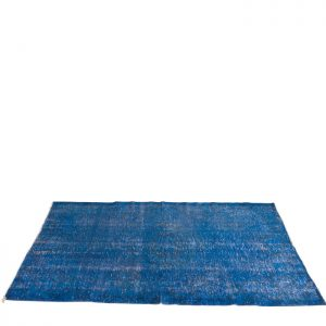 CC-010 vintage carpet turkey blue