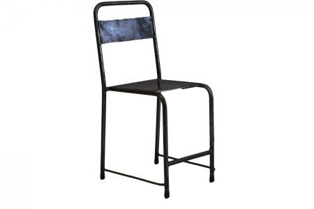 S-016 industrial iron chair