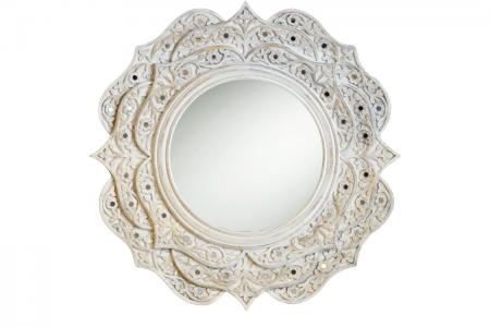 M014 white lotus mirror egypt