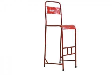 S-032 industrial iron bar chair