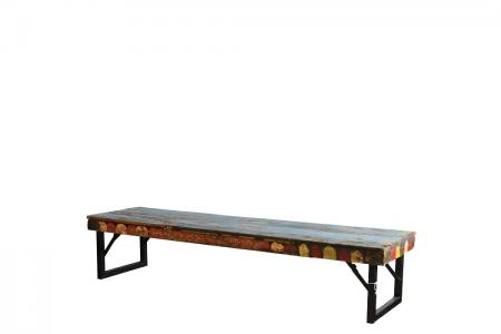 CT-004 folding blue coffee table