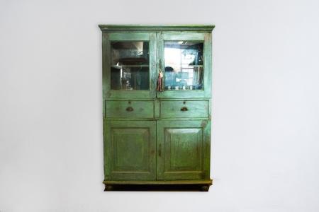 K001-kitchencabinet-green-india