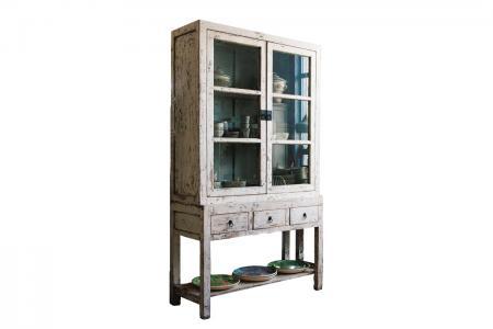 K-008 white kitchen cabinet