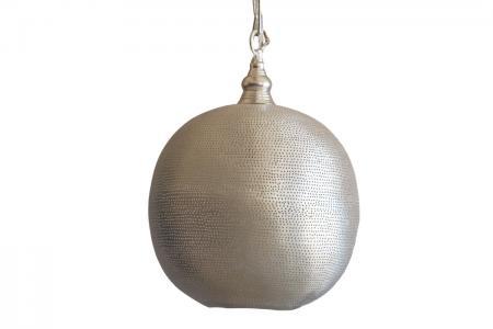 L-018 round lamp filigrain egypt M