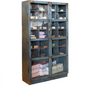 K-002 industrial blue cabinet