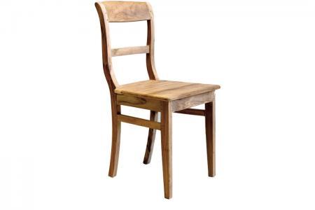 S-001 teak kitchen chair straight