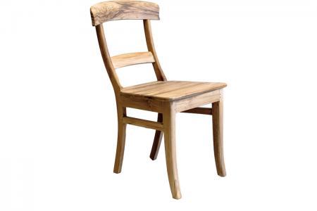 S-002 teak kitchen chair round-b
