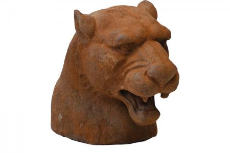 D-020 panther head iron