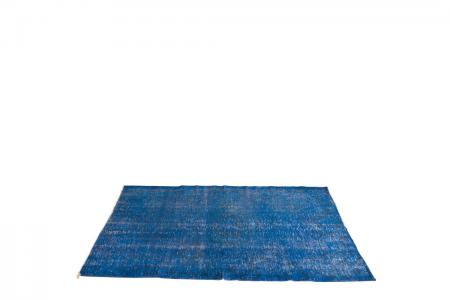 CC-010 vintage carpet turkey blue