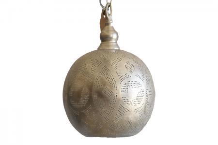 L-011 round lamp filigrain egypt L